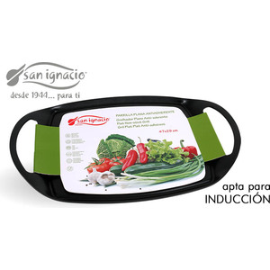 PARRILLA PLANA INDUCCION 47X29CM