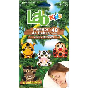 LABI KIDS MONITOR DE FIEBRE PARA NIÑOS 48 HORAS