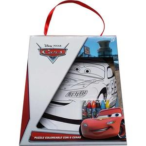 PUZZLE COLOREA C/6 CERAS CARS