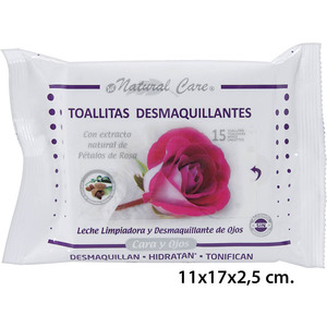 SET 15 TOALLITAS DESMAQUILLANTES FLOW-PACK