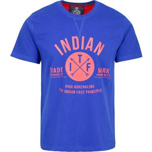 CAMISETA INDIAN PRINCIPLE - ROYAL BLUE