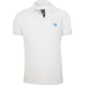 POLO BASIC JUNIOR TIF15 BLANCO - BLANCO