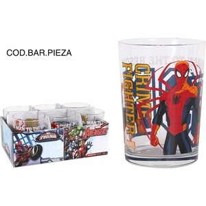 VASO BODEGA 515cc SPIDERMAN