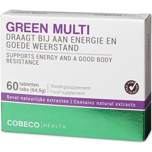 COBECO GREEN MULTI VITAMIN 60 TAB FLATPACK (EN, NL)