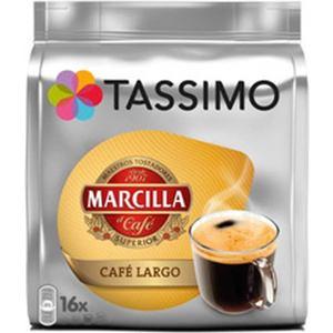 TASSIMO CAFÉ LARGO MARCILLA, 16 CÁPSULAS