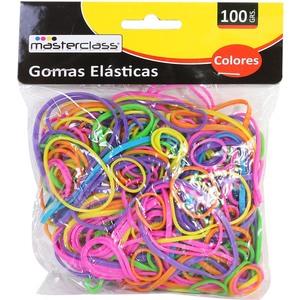 GOMAS ELÁSTICAS COLORES 100GRS