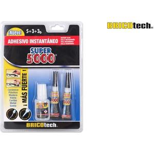 SUPER 5000 BOTELLA C/PINCEL 2 TUBOS