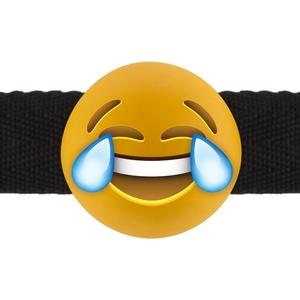 LAUGHING OUT LOUD EMOJI - MORDAZA