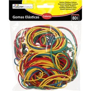 GOMAS ELÁSTICAS COLORES 80G