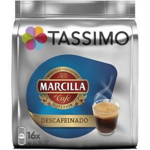 TASSIMO CAFÉ MARCILLA DESCAFEINADO, 16 CÁPSULAS