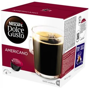 DOLCE GUSTO - AMERICANO 16 CÁPSULAS CAFÉ LARGO