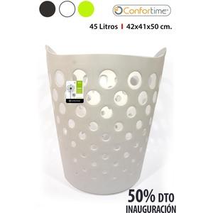 CESTO PONGOTODO 45L 42x41x50cm CONFORTIME - COLORES SURTIDOS