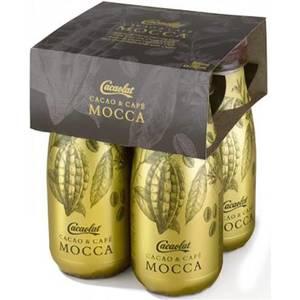 CACAOLAT MOCCA BATIDO DE CACAO CON CAFÉ - PACK 4 BOTELLINES X 200 ML