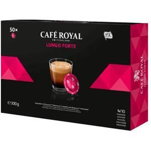 CAFÉ ROYAL LUNGO FORTE 50 CÁPSULAS COMPATIBLES NESPRESSO PRO