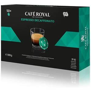 CAFÉ ROYAL DESCAFFEINATO 50 CÁPSULAS COMPATIBLES NESPRESSO PRO