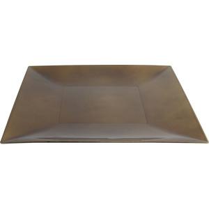 PLATO PVC ORO VIEJO VINTAGE 30x30cm