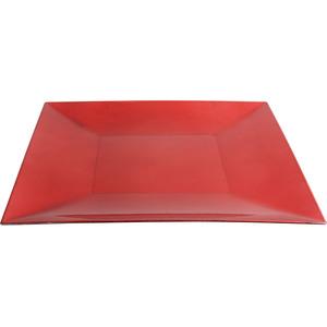PLATO PVC ROJO VINTAGE 30x30cm