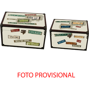 J/2 CAJA COFRE PASSWORD CREMA