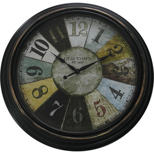 RELOJ RULETA DECORATIVO