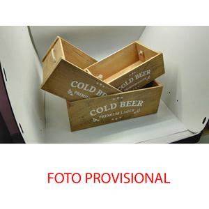 CAJA JUEGO DE 3 - COLD BEER