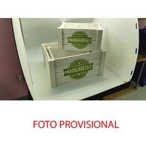 CAJA JUEGO DE 3 - MARGARITAS