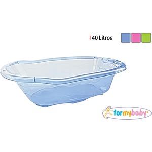 BAÑERA INFANTIL TRANSPARENTE 40L FORMYBABY