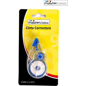 CINTA CORRECTORA 4mmx2metros MASTERCLASS