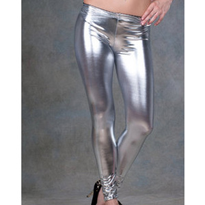 LEGGING SATINADO GRIS