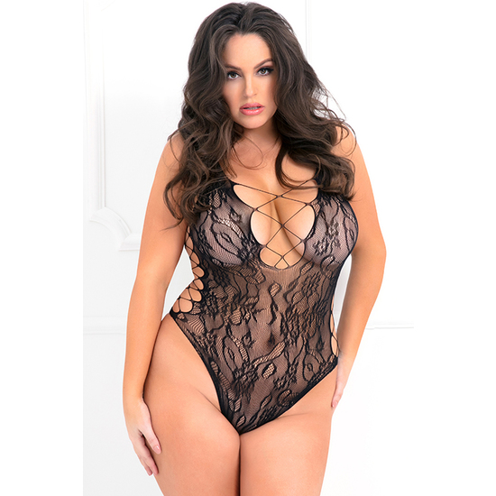 BODYSUIT SEXY BODY ESCOLTE - NEGRO