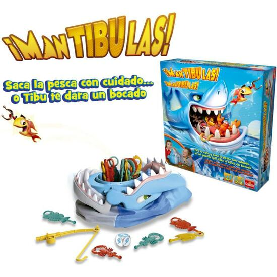 JUEGO MANTIBULAS - MANDIBULAS!