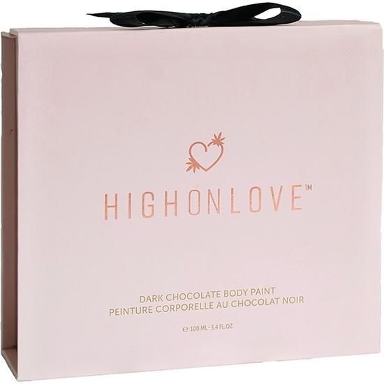 HIGH ON LOVE - PINTURA CORPORAL DE CHOCOLATE - 100 ML (2)