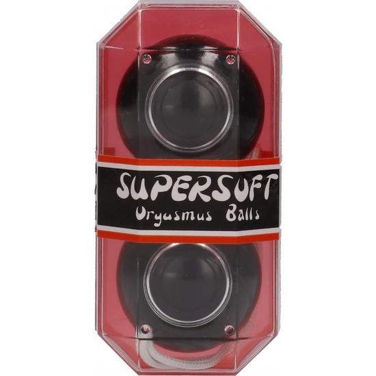 SUPERSOFT BOLAS ORGASMICAS NEGRAS (1)