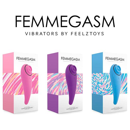 FEELZTOYS - FEMMEGASM VIBRADOR PARA TAPPING & TICKLING ROSA (7)
