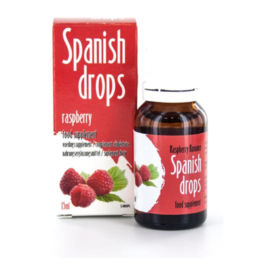 SPANISH FLY GOTAS DEL AMOR FRAMBUESA ROMANTICA