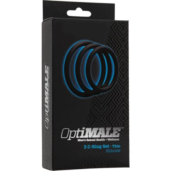 OPTIMALE PACK DE 3 ANILLOS PARA EL PENE (2)
