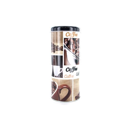 BOTE CHAPA REDONDO DISEÑO CAFÉ LETTERS