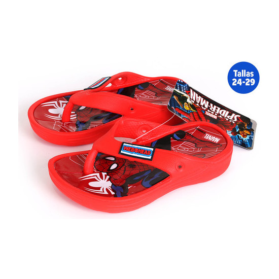 CHANCLAS VERANO INFANTILES SPIDERMAN