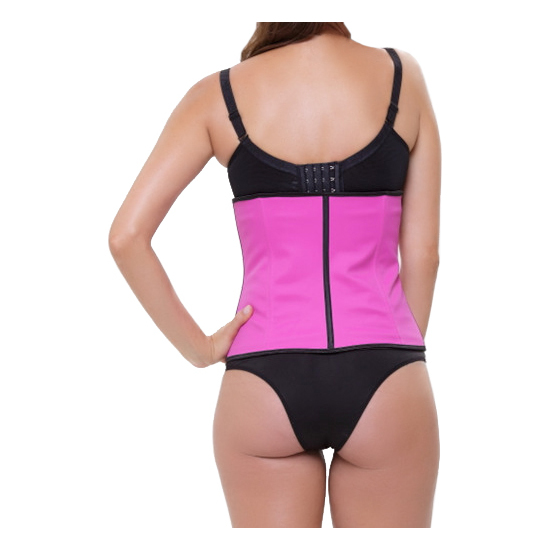 CORSET LATEX APPEARANCE ROSA (S - )