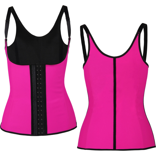 CORSET LATEX SHAPE FUCSIA (XL - )