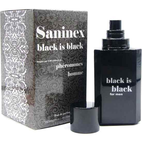 SANINEX PERFUME PHÉROMONES BLACK IS BLACK MEN (1)