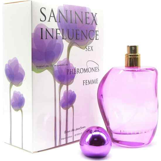 SANINEX PERFUME PHÉROMONES SANINEX INFLUENCE SEX WOMAN (2)