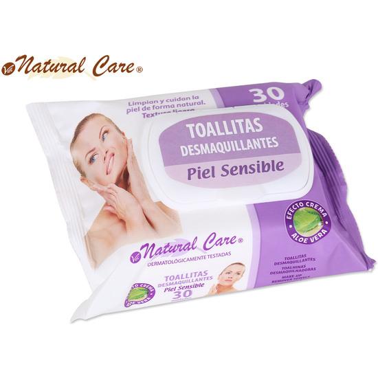 TOALLITA DESMAQUILLANTE 30UD C/TAPA NATURAL CARE