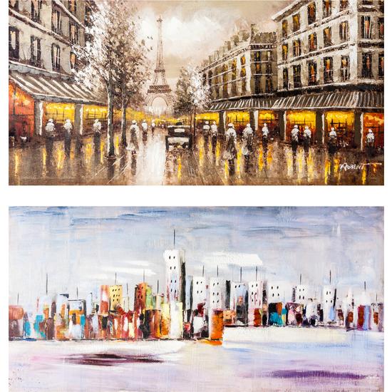 PINTURA PARIS/NEW YORK - SURTIDO