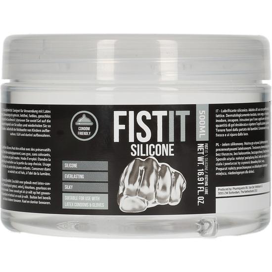 FIST-IT - LUBRICANTE ANAL DE SILICONA - 500ML