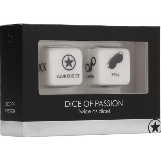 DICE OF PASSION - NEGRO