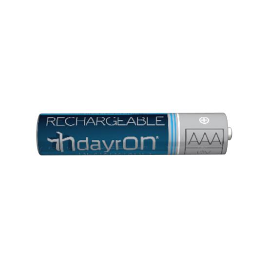 PILAS RECARGABLES HR03 DAYRON 2 UDS (1)