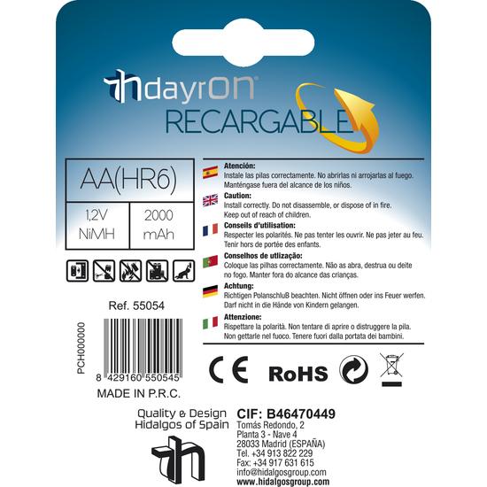 PILAS RECARGABLES DAYRON HR06 2 UDS (1)