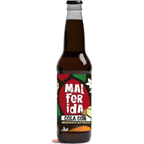MALFERIDA - COLA CON INGREDIENTES NATURALES 33CL