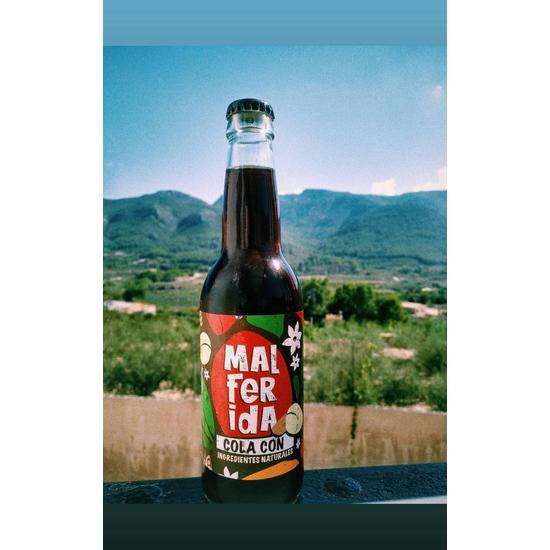MALFERIDA - COLA CON INGREDIENTES NATURALES 33CL (1)