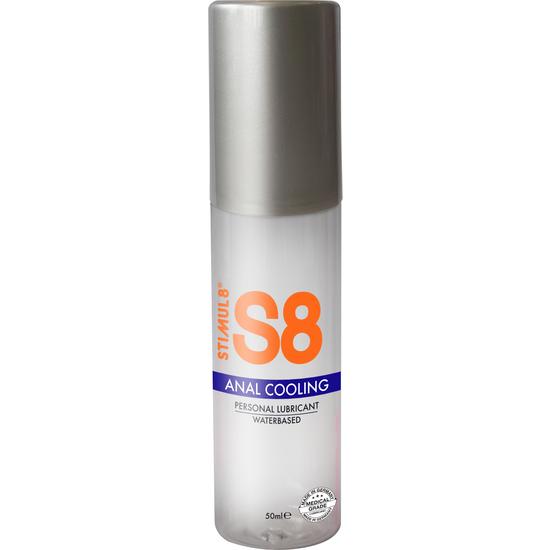 S8 LUBRICANTE ANAL BASE DE AGUA EFECTO FRÍO 50ML